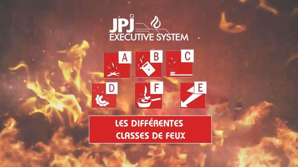 Tout connaitre sur les différentes classes de feux